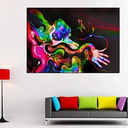 WJY Pintura Abstracta de la Pared Impresiones Modernas de la ...