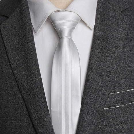 KYDCB Hombres Corbatas Flacas 5 cm Corbata Moda para Hombre ...