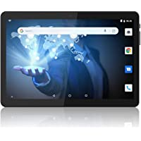 Tablet 10 inch Android 9.0 Pie, Google Certified, Quad-Core, 2GB+32GB Storage, WiFi Tablet PC with Cameras and Micro SD Card Slot, IPS HD Full Display, Dual Cameras, Bluetooth, GPS, FM, 6000 mAh