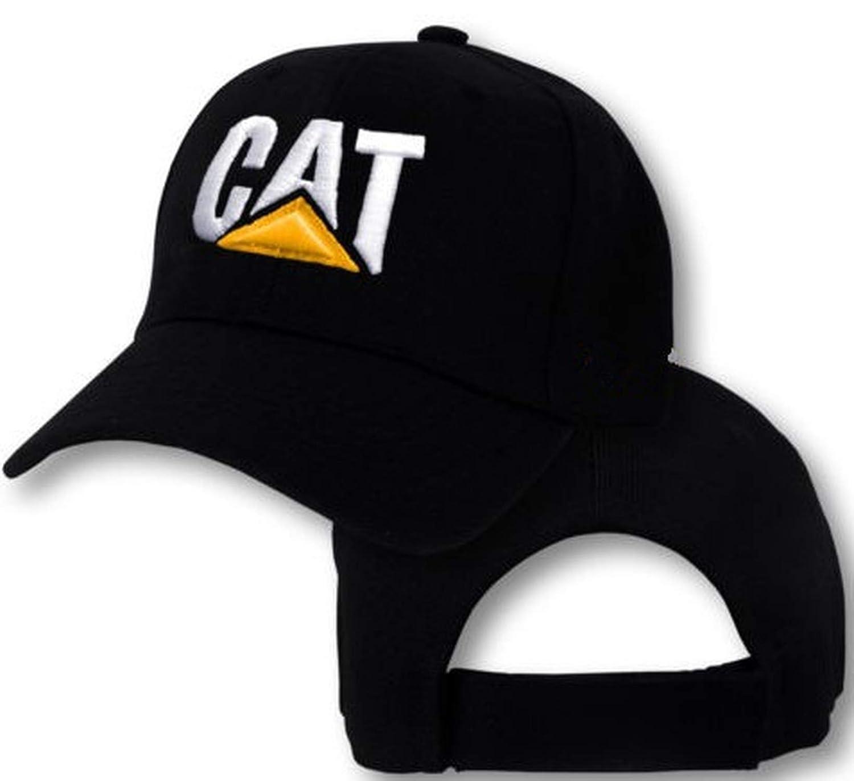 Caterpillar Cap CAT Construction Logo Hat Tractor Trucker Equipment Baseball Cap Hood caps