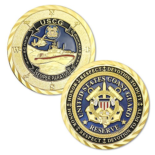 E-Coin U.S. Coast Guard Challenge Coin Commemorative Commemorative Challenge Coin