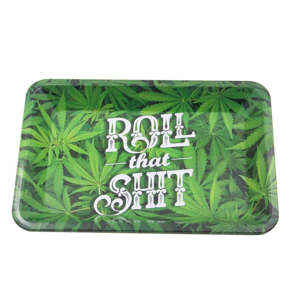 Ewolee Metal Rolling Tray, Medium Size (11.3'' L x 7.5'' W)
