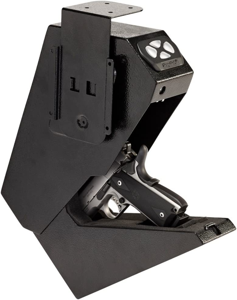 "SnapSafe Drop Box Keypad Vault, Black - 13.5"" H x 7.5"" W x 3.6"" D"