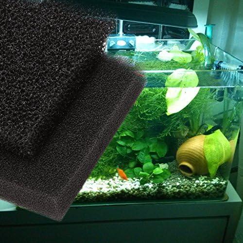 Xuniu Schiuma del Filtro del carro Armato del Pesce Grandi rilievi di Spugna dellacquario della Schiuma del Filtro dalla barriera 100x12x2cm