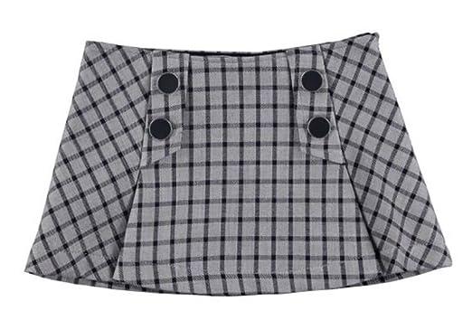 Falda cuadros doble cara: Amazon.es: Ropa y accesorios