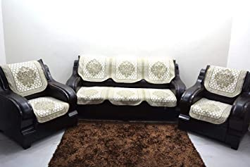 Magnificent Buy Kingly Silver Sofa Cover Set Of 6Pc 3 1 1 Make In India Pdpeps Interior Chair Design Pdpepsorg
