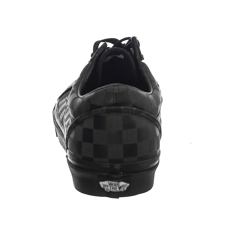 509cedeb737844 Vans - Trainers - UA Old Skool (High Density) Black Checkerboard   Amazon.co.uk  Shoes   Bags