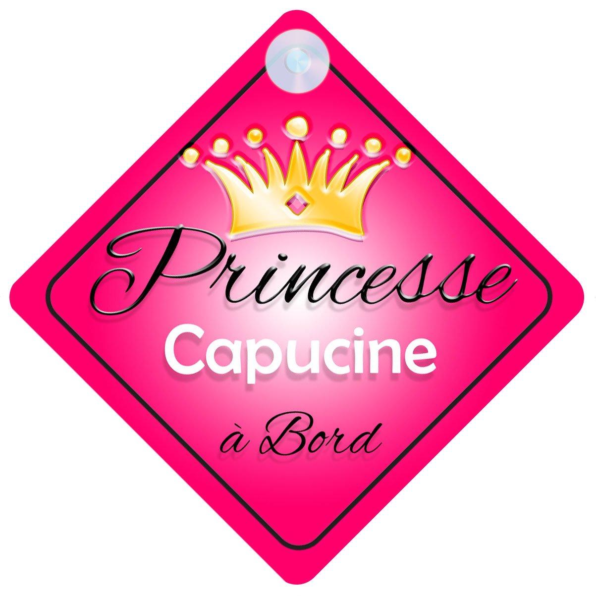 Princesse 001 Capucine Signe Pour Voiture Enfant//B/éb/é /à Bord