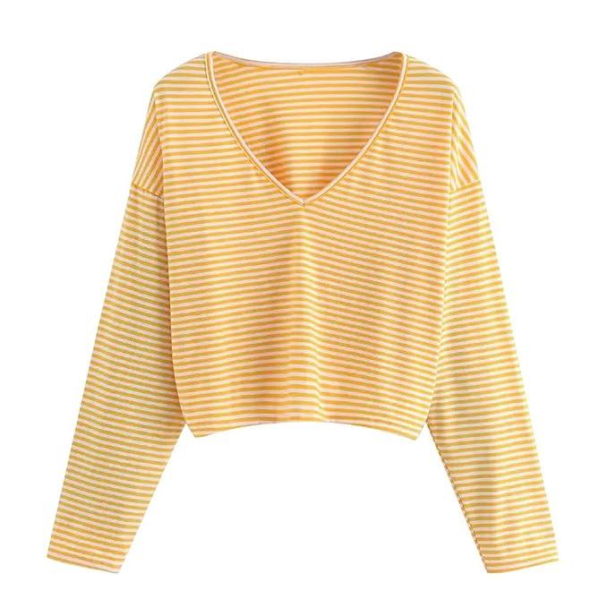 Luckycat Camisa Ocasional de Las Mujeres de la Manera Blusa Superior de la Blusa con Cuello