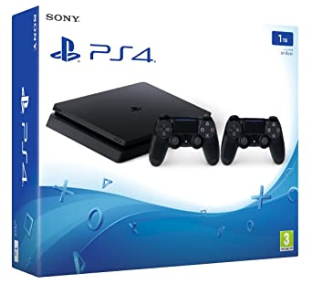 Sony Playstation 4 1TB Slim + 2 Controllers - Amazon Argentina
