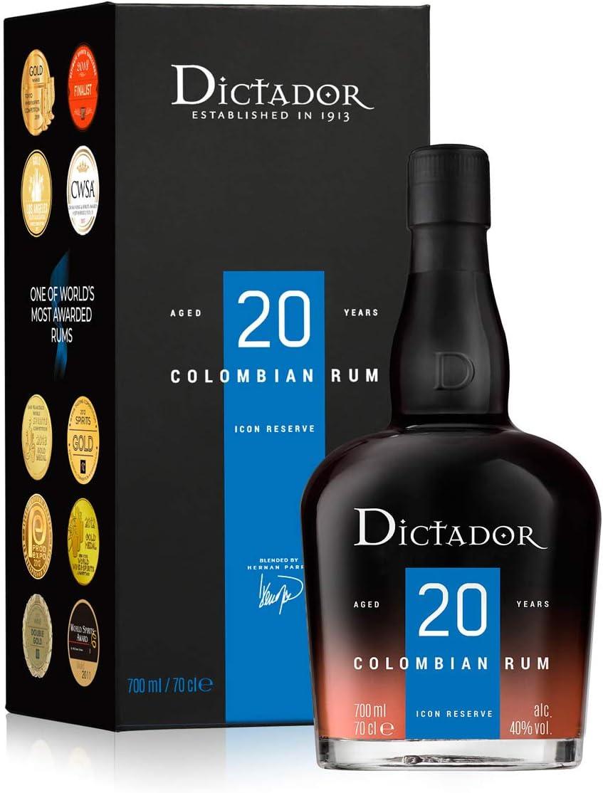 Dictador Rum 20 YO 40%, 1 x 0,7 l