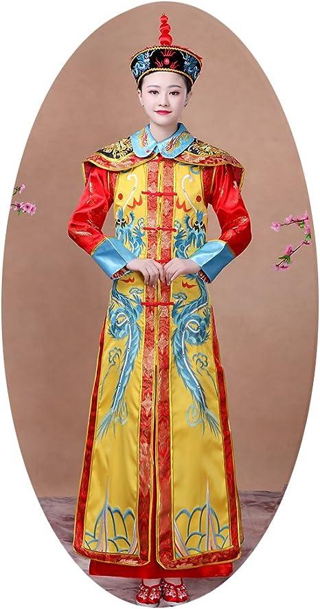 Disfraz de dinastía Qing/vestido de reina/antiguo disfraz chino ...