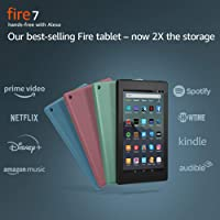 Amazon.com deals on Amazon Fire 7 32GB 7-inch Tablet with Special Offers