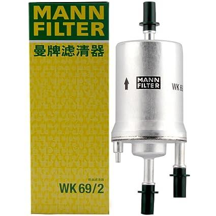 amazon com mann filter wk 69 2 fuel filter automotive Fuel Filter Replacement Fuel Filter 2 2 #16