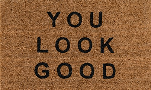 Novogratz Aloha Collection You Look Good Doormat, 1'6