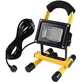 Faretto a LED da 20W, perfetto per uso esterno, equivalente alle tradizionali lampade da 160W, 1900lm, 6000K, impermeabilità IP65