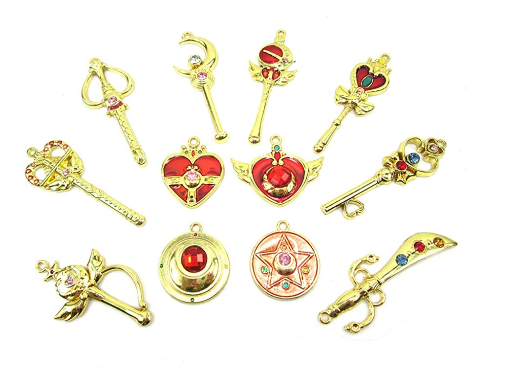 Amazon.com: Sailor Moon Pretty Guardian 12pcs cosplay ...