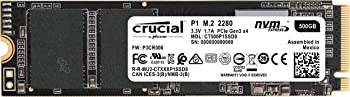Crucial P1 500GB Internal Solid State Drive
