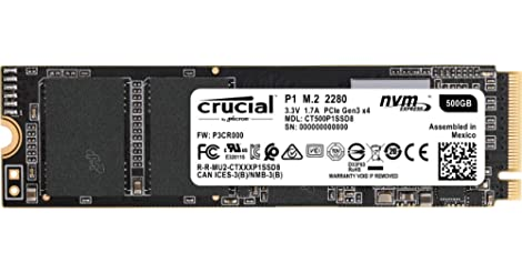 Crucial P1 500GB Internal Hard Drive only $56.99