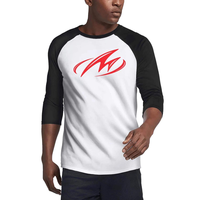 XAAI Mens 3//4 Sleeve T-Shirts 80/% Cotton,20/% Polyester Wool Warm Unisex