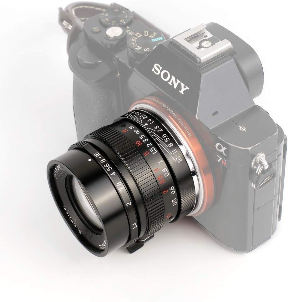 7artisans 35mm F1.4 Lente de Marco Completo para cámaras con ...