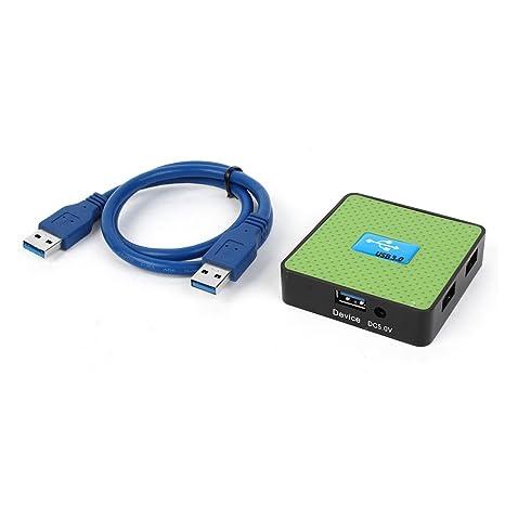 4 puertos alta velocidad cuadrado USB 3,0 puertos para ordenador portátil