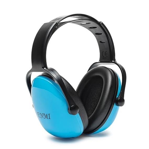 Enmi Kapselgehörschutz Kinder Gehörschutz Reduzieren Lärm Ohrenschützer für Kids Baby Ear Defender Verstellbar Leicht Komfort