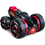 Remote control Stunt Car Double-face work 30km/h rapid stunt roller car all terrian suitable for competition with light,Red