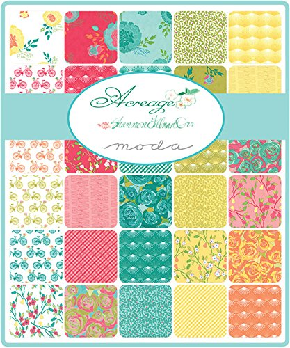 Acreage Charm Pack By Shannon Gillman Orr; 42 - 5 Precut Fabric Quilt Squares by modaの商品画像
