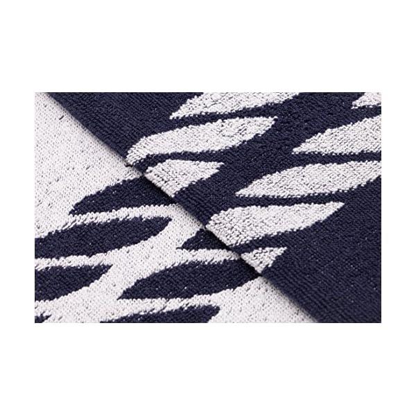 ZOLLNER Telo Mare, 100x200 cm, 100% Cotone, Blu Marino, Altri Colori 3 spesavip