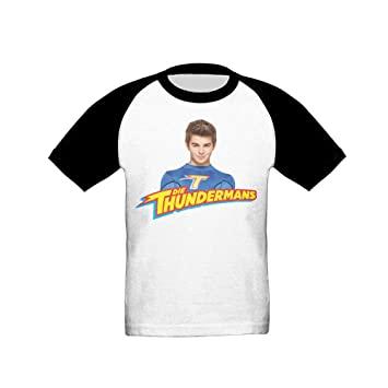 Kids (Age 2-6T) The Thundermans Short Sleeve Raglan Baseball T-Shirt