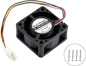 Dedicated DC 5V Cooling Fan for NVIDIA Jetson Nano Developer Kit Brushless Fan 4PIN Reverse-Proof Connector PWM Speed Adjustment Strong Cooling Air 40mm×40mm×20mm