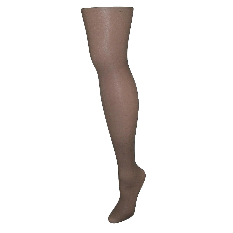 4bf23b8f5a2 Hanes Silk Reflections Silky Sheer Control Top Sandal foot Barely Black A    B at Amazon Women s Clothing store  Handbags