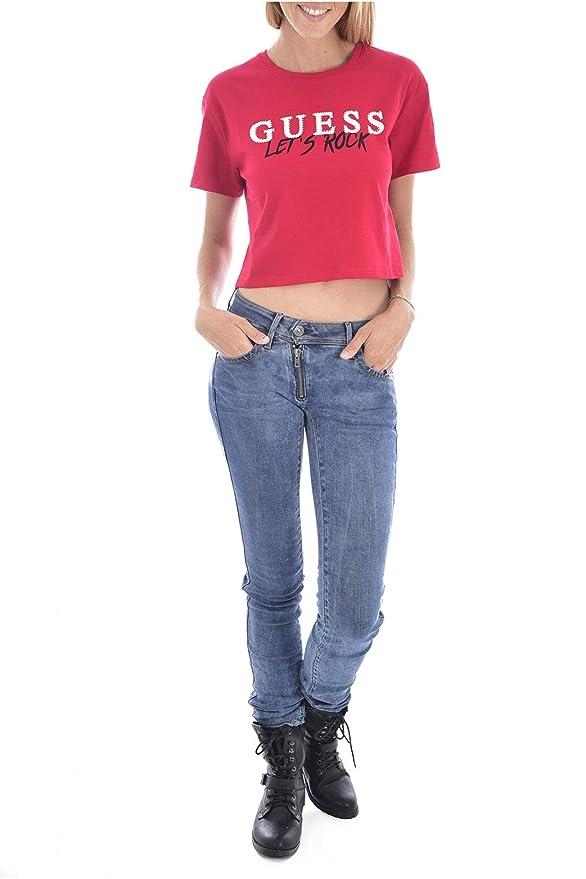Donna Guess T Shirts O94I12JR05M T shirt, top e bluse