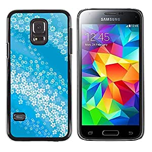 Stuss Case / Funda Carcasa protectora - The Floating White Garlands - Samsung Galaxy S5 Mini, SM-G800
