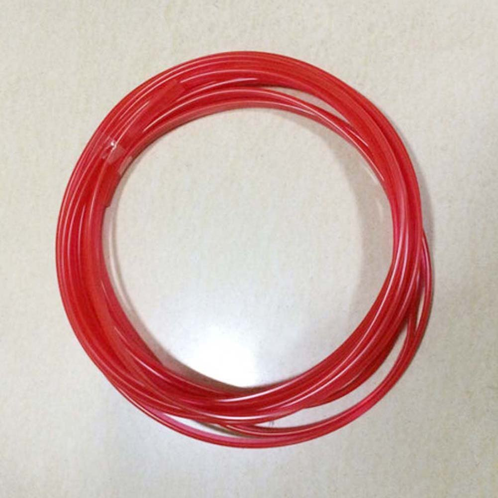 5Meters Car Interior Red Point Edge Gap Line Garnish Point Molding Accessory