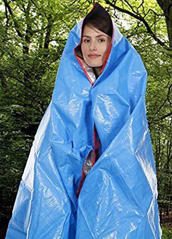TrekMate All Weather Emergency Space Heavy Duty Large Survival Camping Hiking Outdoor Blanket