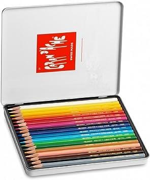 Caran Dache - Juego de lápices de Watercolor (18 Unidades, Caja ...
