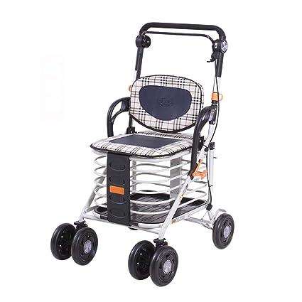 GTT Los carritos de la Compra para la Tercera Edad para Comprar Comida los carritos para
