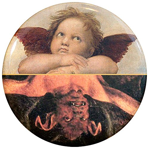 Buttonsmith Clean Dirty Dishwasher Magnet Angel