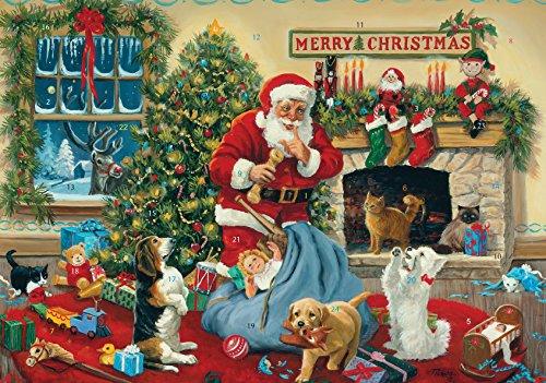 Vermont Christmas Company Santas Beggars Advent Calendar