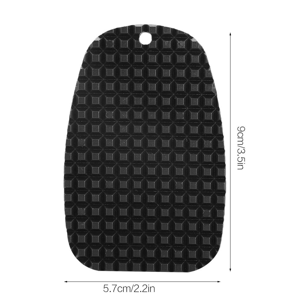Aramox Kickstand Pad Side Universal Motorcycle Support Plate Extension Enlarger Pad for Soft Ground Outdoor Parking