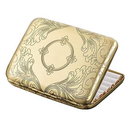Caja para guardar cigarrillos, de cobre puro. Caja para 16cigarrillos. Brass