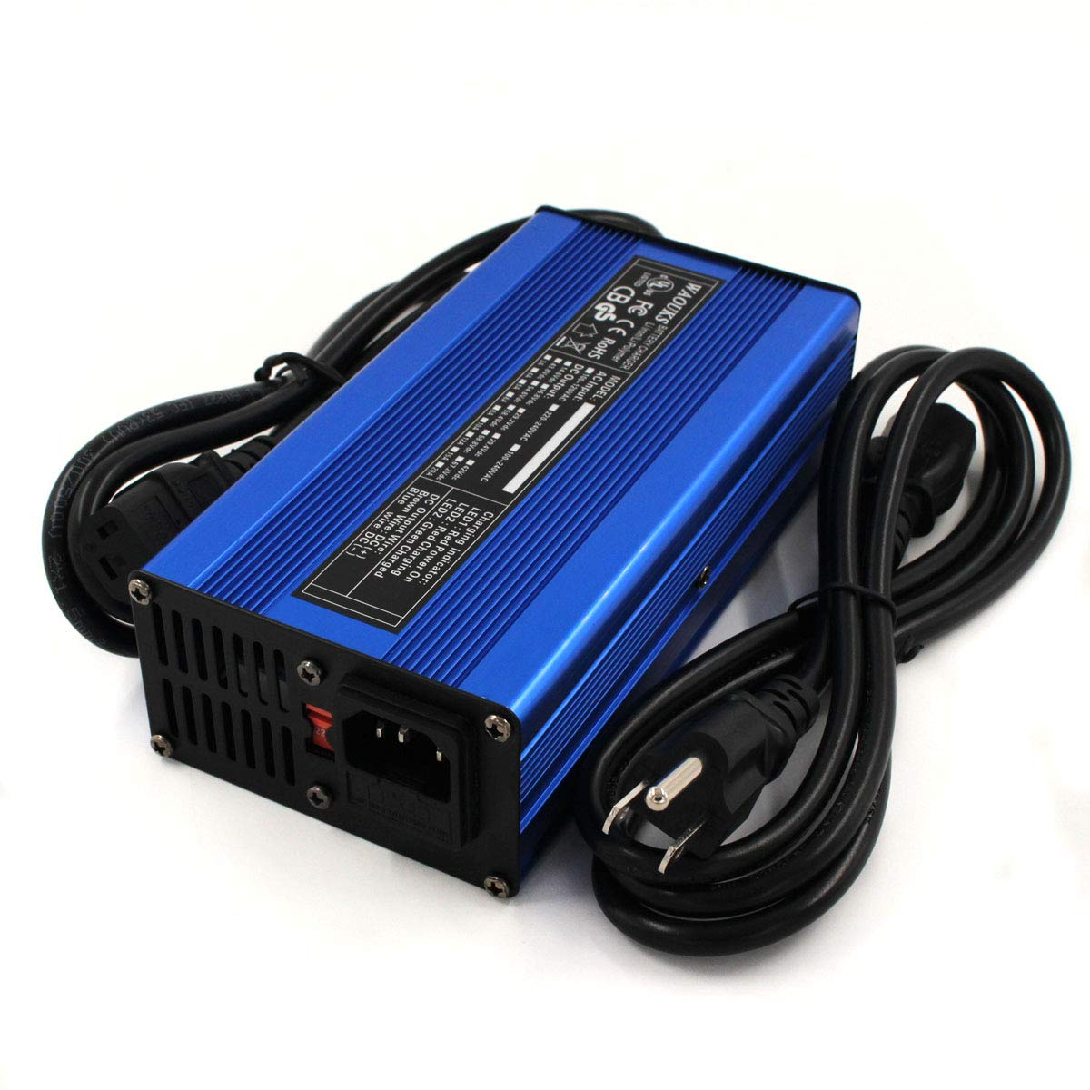 42V 5A Charger 36V Li-ion Battery Charger 10S 36V Lipo/LiMn2O4/LiCoO2 Battery Pack Quick Charge Fully Automatic DONGGUAN WATE ELECTRONICS CO. LTD WA-4205