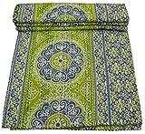 V Vedant Deisgns Suzani Print Queen Cotton Kantha