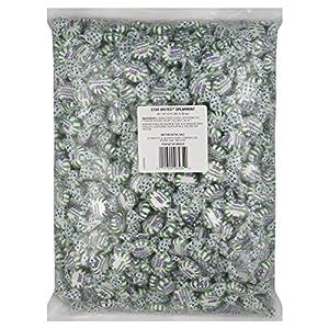 Brach's Starbrites Spearmint Mints, 6.31 Pound Bulk Candy Bag
