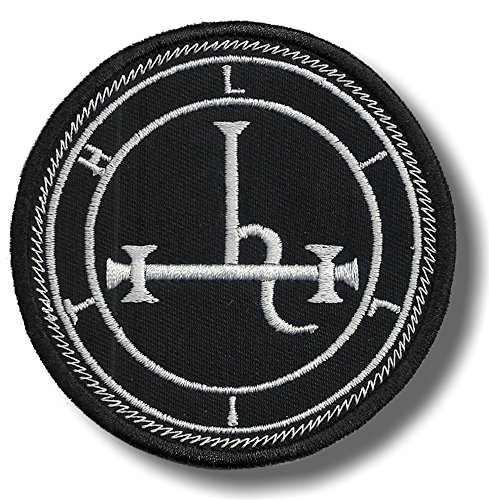 Sigil of Lilith embroidered patch
