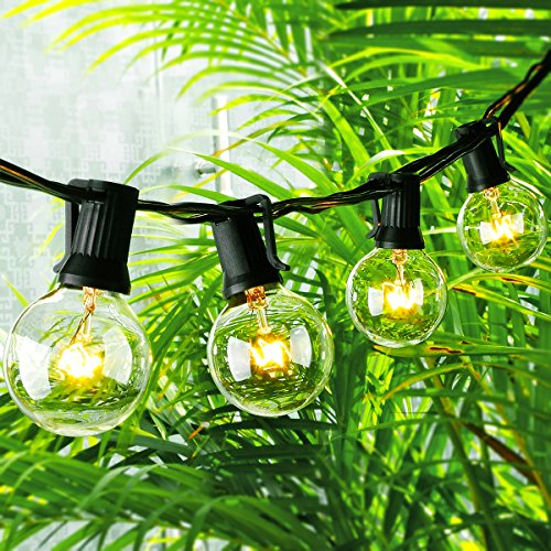 Globe String Lights G40 Bulbs