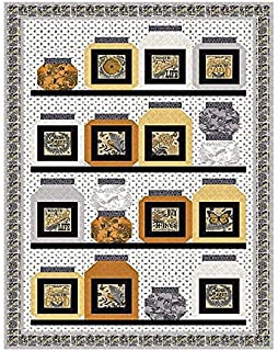 BEE INSPIRED  2 Quilt Kit - Moda Fabric by Deb Strain + Quilt Pattern a8b55ae07d9