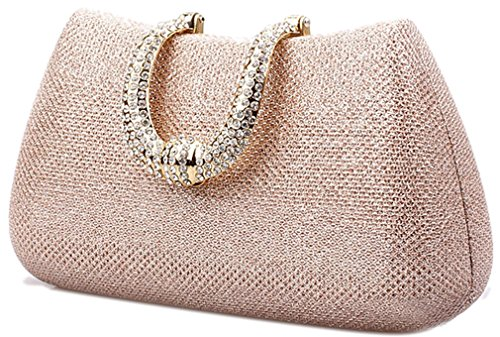 Thenice Wedding Champagne Evening Clutch Bags Women's Rhinestone Sequins S7OqnwSaPr
